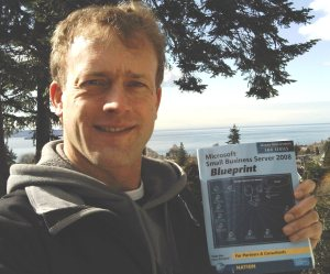Keith Braun received his SBS 2008 book Friday in Canada